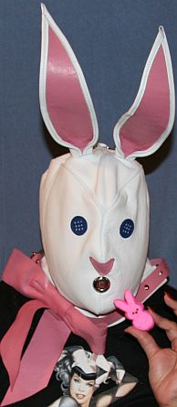 bunny hood with peep